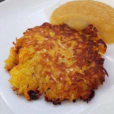 Kartoffelpuffer / Reibekuchen