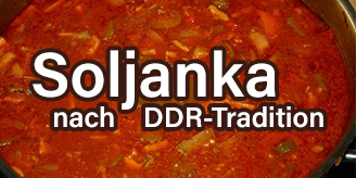 Soljanka nach DDR-Tradition