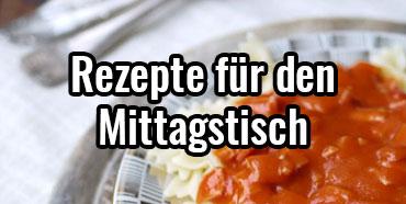 DDR-Mittagsmahlzeit